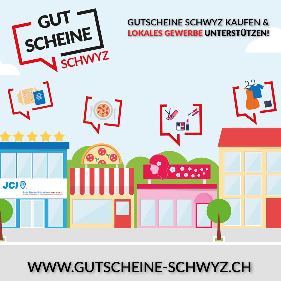 Gutschein Schwyz: Unterstürtzen Sie die Wirtschaft zum Löwen