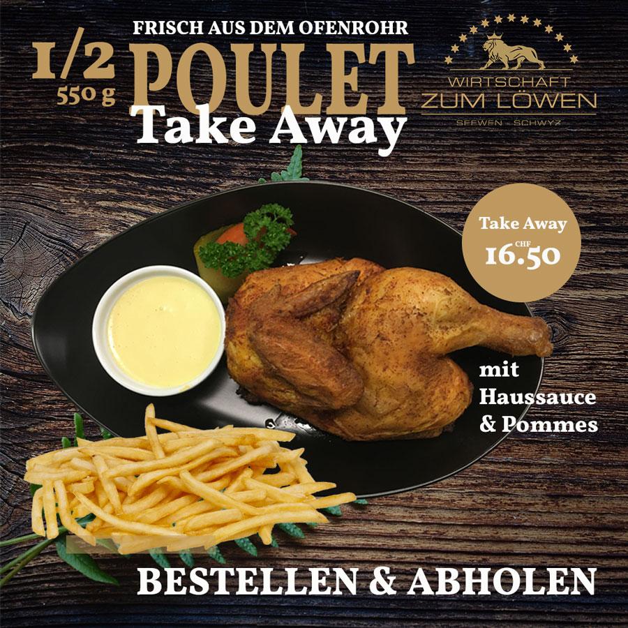 Poule Take Away bestellen und abholen